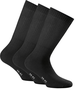 18731-000 - Sportsocken Medium, Triopack, schwarz