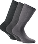 18732-000 - Sportsocken Medium, Triopack, grau/