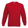 19400-000 - Sweatshirt Fruit of the Loom, rot